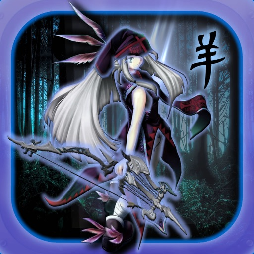 Angel  Dark Arrow - Fighters Girls Archers Clan