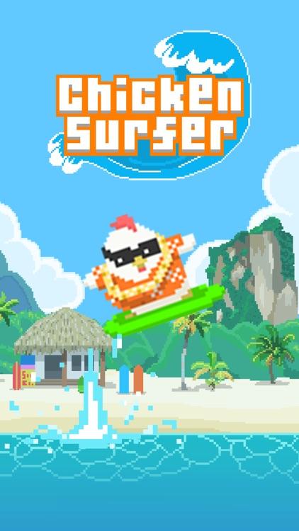 Chicken Surfer - Road to summer vacation!