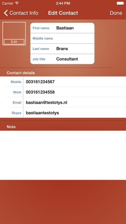 OTYS CRM screenshot-2