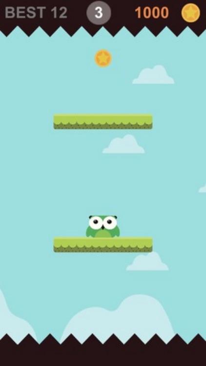 Bird Jump Endless Tap Top