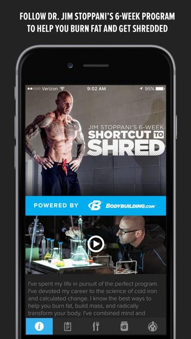 Shortcut to Shred Jim Stoppani - App - AppStore