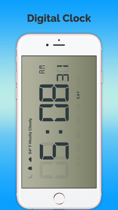 天氣預報時鐘免費屏幕截圖1