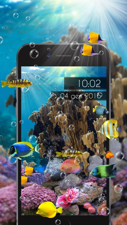 Amazing Aquarium Clock LITE screenshot-3