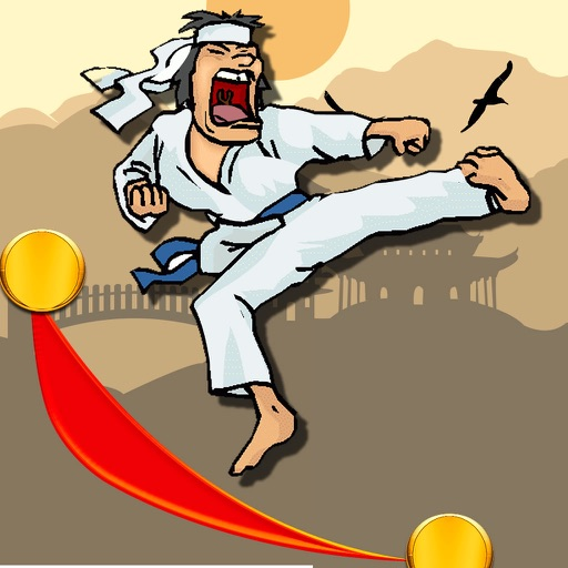 Teenage Karateka Run - Fun Jump Mobile
