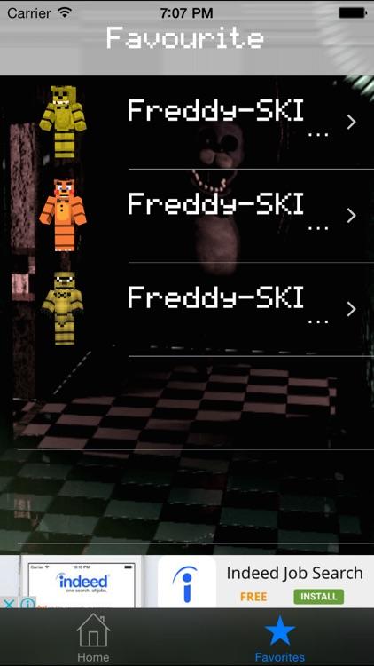 Free Skins for Minecraft PE(Pocket Edition)- Skin for FNAF screenshot-4