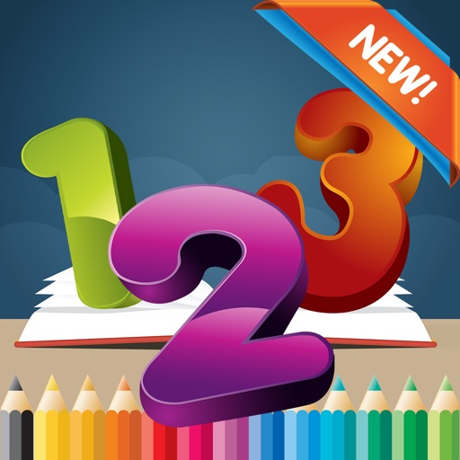 123 Coloring Book for children age 1-10: Games free for Learn to write the Spanish numbers and words while coloring with each coloring pages