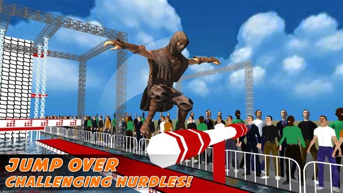 Super Ninja Warrior Obstacle Course – A Crazy Kung-Fu Training School Screenshot