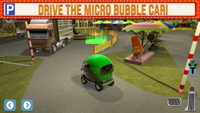 Amusement Park Fair Ground Circus Trucker Parking Simulator Screenshot