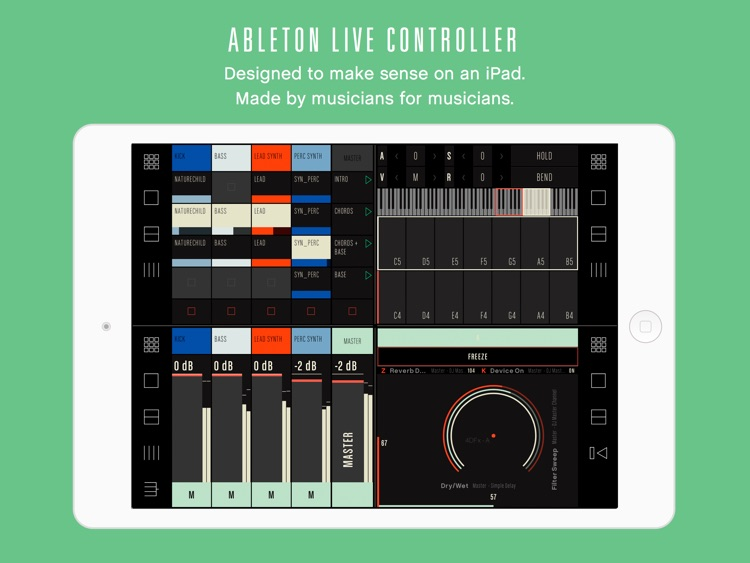 Conductr - Ableton Live and Traktor controller for iPad screenshot-0
