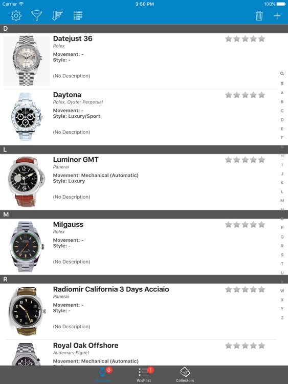 Watch Collectors: Rolex Patek Philippe Alpina Ball