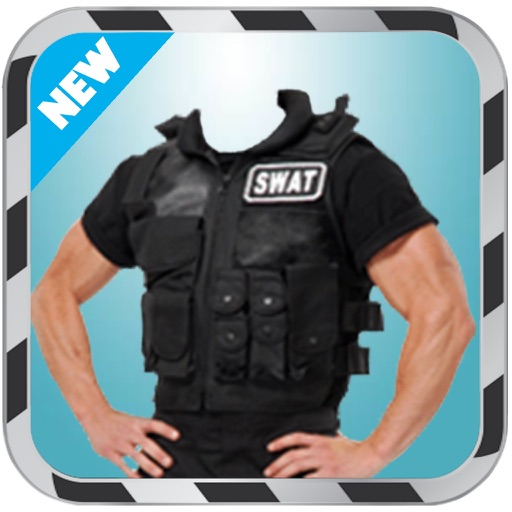 Police Costume montage photo - Police Suit iOS App