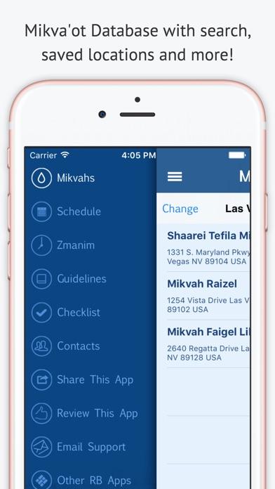 Mikvah מקוה - Jewish Family Purity Screenshot 1