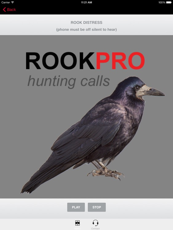 REAL Rook Calls for Hunting - BLUETOOTH COMPATIBLE