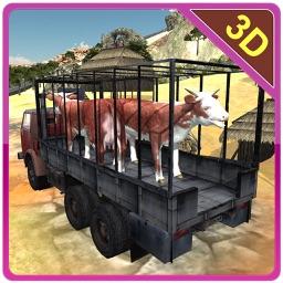 Offroad Transport Farm Animals – Truck driving & parking simulator game