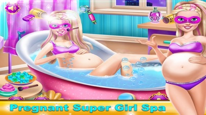 Pregnant Girl - Spa Makeover And Dress Up Game