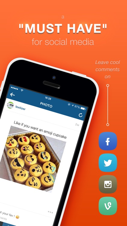 Textizer Font Keyboards Free - Fancy Keyboard themes with Emoji Fonts for Instagram