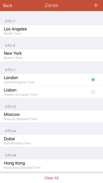 24h World Clock