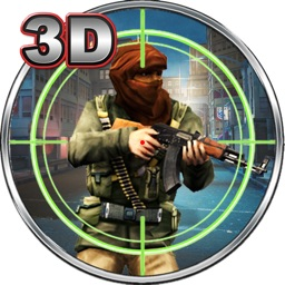 Terrorist Counter War 3D - Real Crime City & Sniper Assassin Shooter Game