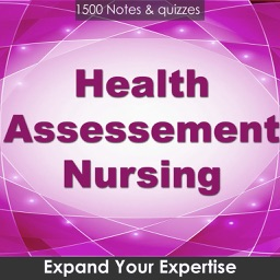 Health Assessment Nursing : 1500 Quiz & Study Notes