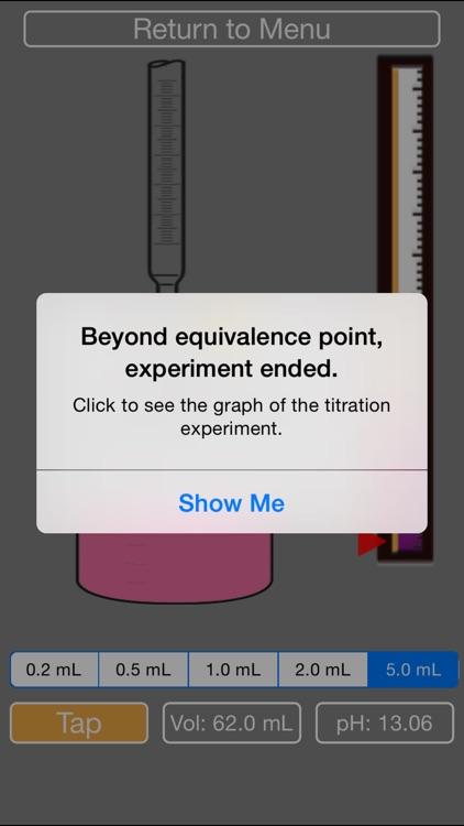 Titration Simulator to Learn Acid Base Equilibrium (Free) screenshot-3