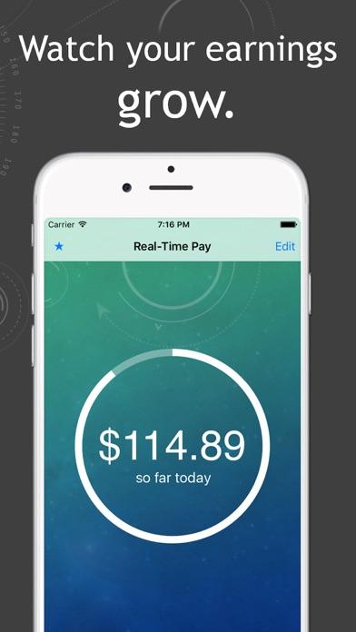 点击获取Real-Time Pay – watch your earnings grow