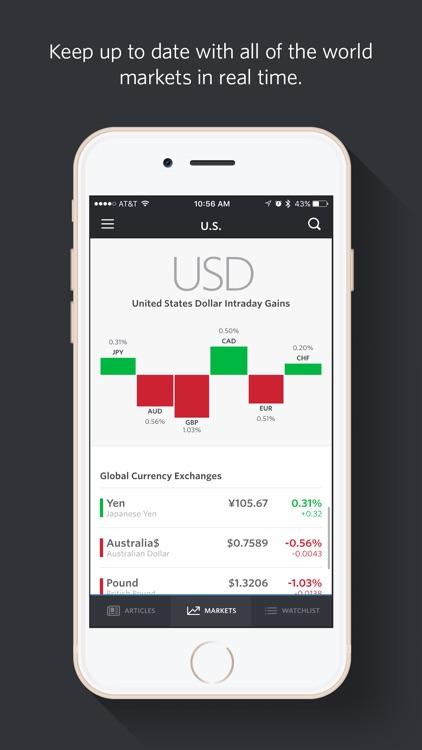 MarketWatch - News & Data screenshot-4