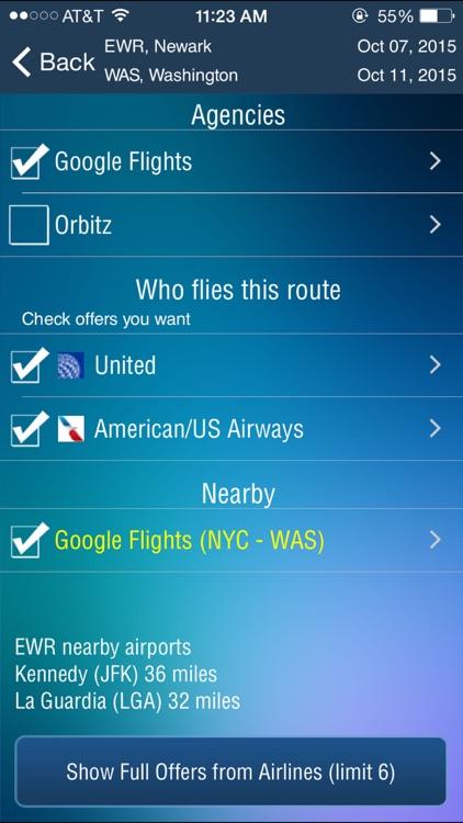 Newark Airport (EWR) Flight Tracker screenshot-3