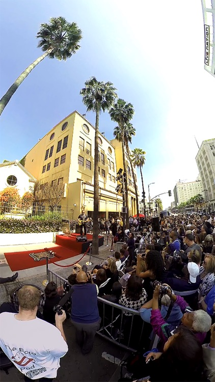 VR Virtual Reality press360 - Walk of Fame Star Unveiling Ceremony screenshot-4