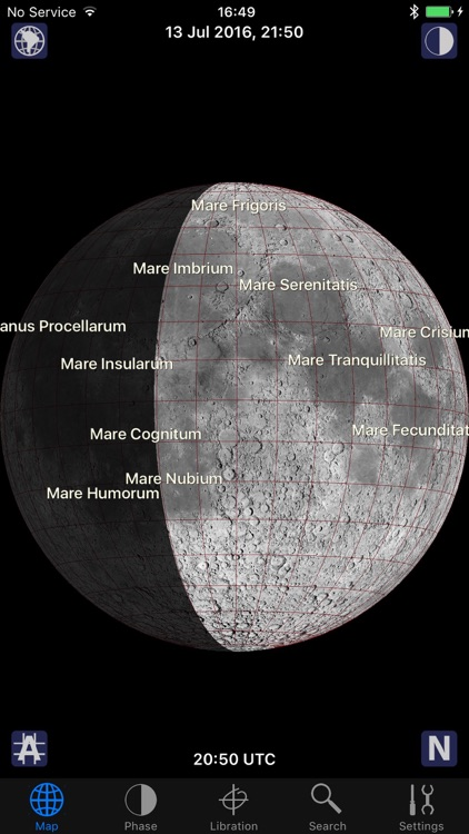 Track The Moon Phases With The Best Moon Map Apps