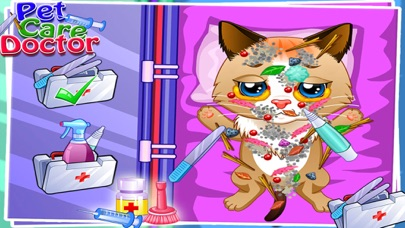 Pet Care Doctor - Surgery for Pet in the hospital by veterinary Doctor Free games for KidsScreenshot von 1