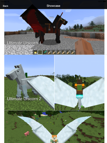 Ultimate Unicorn Pegasus Mod - Flying Horse Mod for Minecraft PC Guide |  App Price Drops