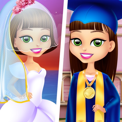 Olivia Grows Up - Baby & Family Life Salon Games for Girls