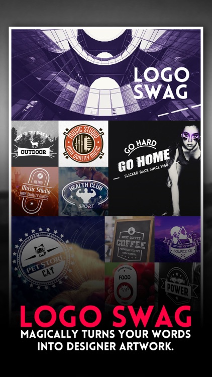 Logo Swag Pro - Instant generator for logos, flyer, poster & invitation design screenshot-0