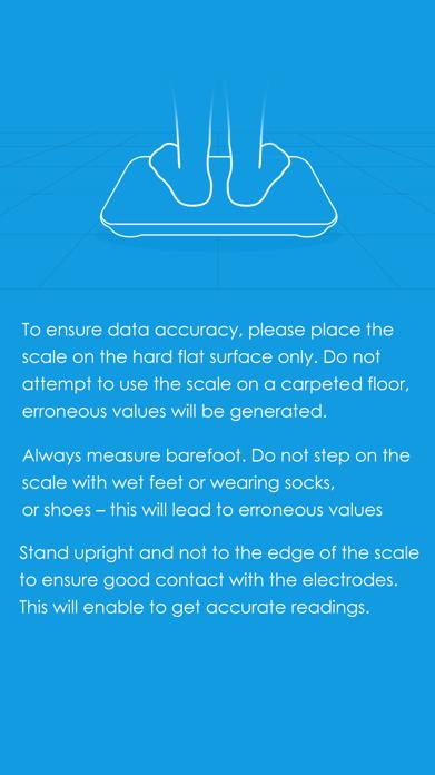 iTek Health Scale Screenshot