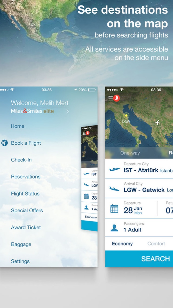 Turkish Airlines: Book Flights Screenshot