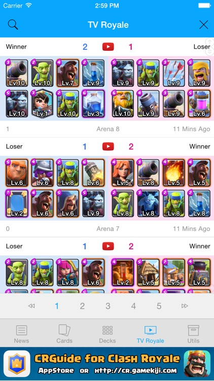 CRGuide for Clash Royale