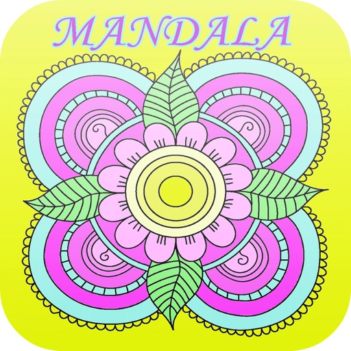 Mandalas and Florist Coloring Book For Adult : Best Colors Therapy Stress Relieving  Free