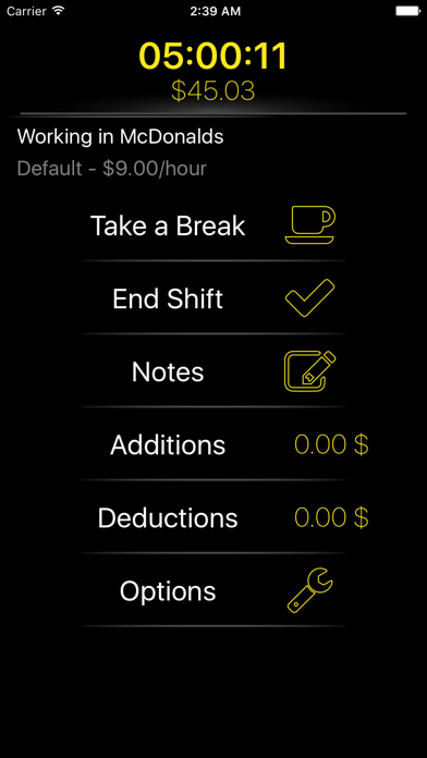 Shifts - Track Your Work Hours