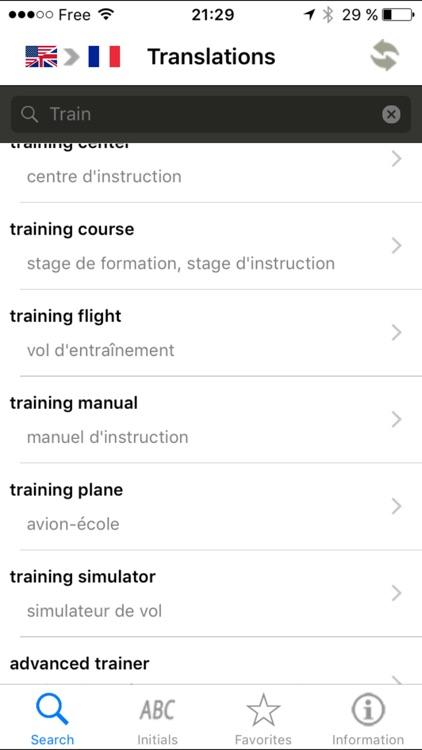 Aeronautical dictionary - French-English/English-French – Henri Goursau