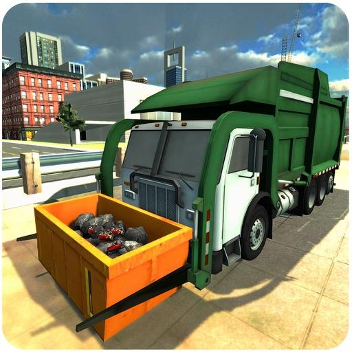 Мусоровоз симулятор 3D - мусор уборочная машина симулятор