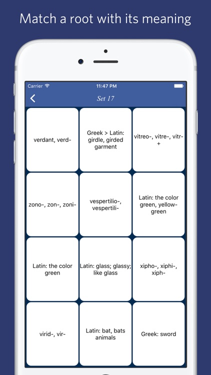 Biology: Roots, Prefixes and Suffixes screenshot-3
