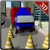 学校 - ローリー駆動&駐車シミュレータゲームを駆動メガトラック