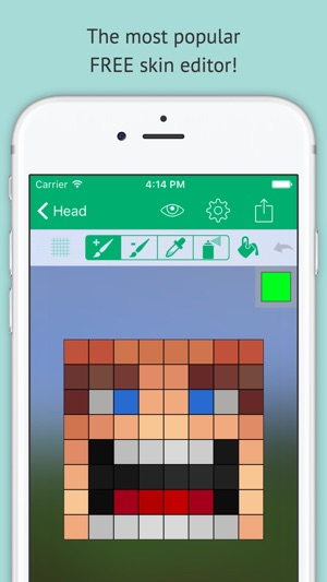 Skin Editor: Minecraft Creator Edition on the App Store