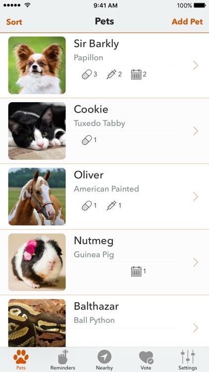 PetFetch - Pet Organizer screenshot-0