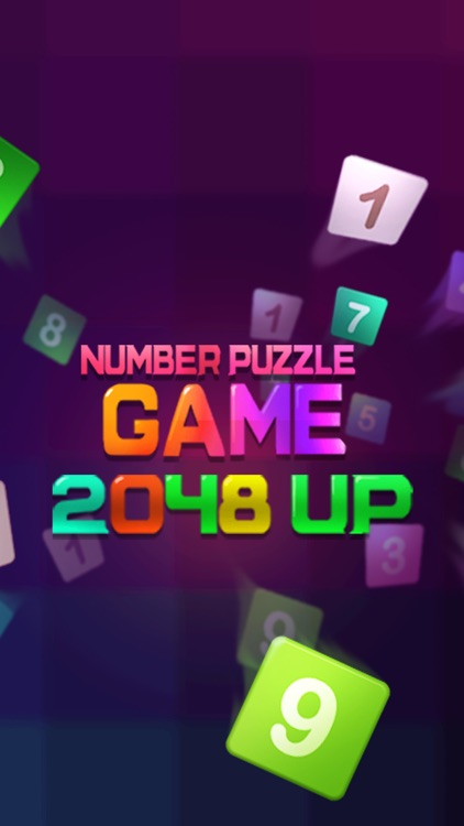 2048 UP:Number Puzzle Game