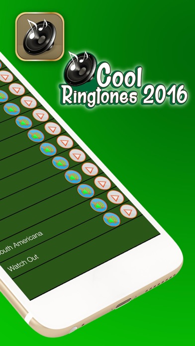 Cool Ringtones 2016 – Free Collection of Sound Effects and Text Tone.s Maker for iPhone screenshot two