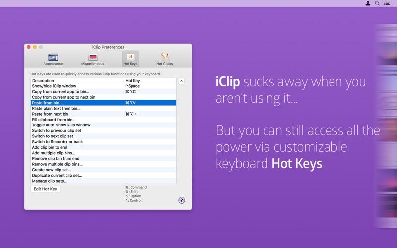 iClip Screenshot