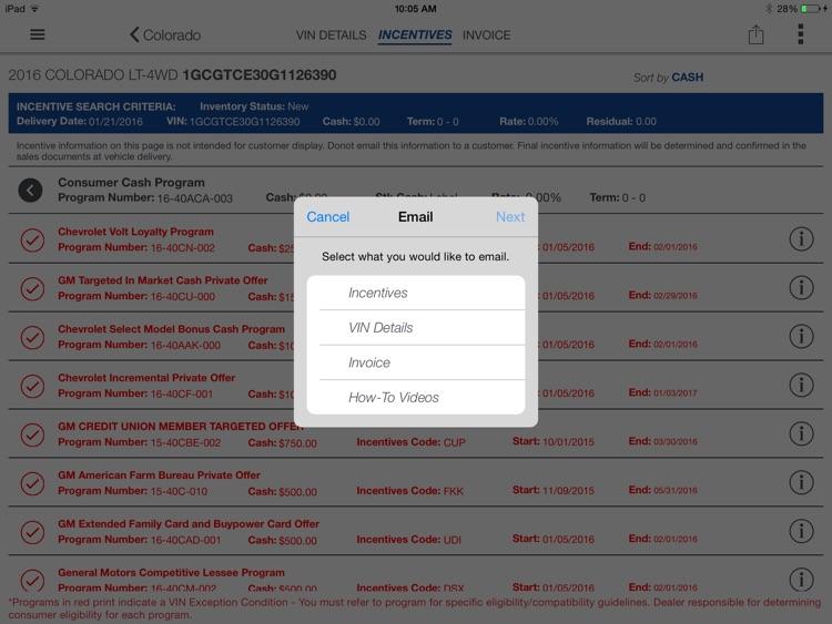 GM Dealer SalesAssistant screenshot-4