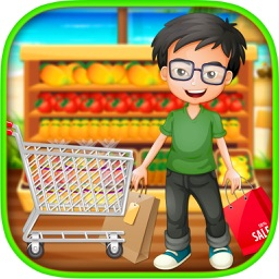 Supermarket Boy Summer Shopping Mall - A grocery Store & Cash Register game