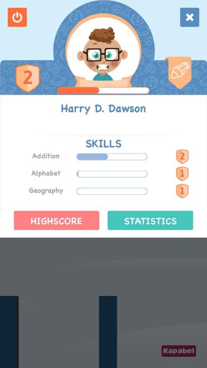 Spelling bridge - spell the words to build the bridge